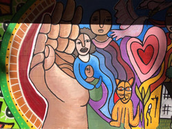 Casa Ref. (Community mural, CDMX)
