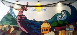 Shark Reef (Mural, Mazatlan, MX)