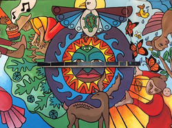 Lifeflow (Mural, Oaxaca, MX)