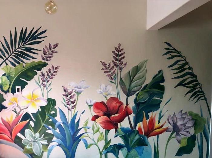 Flowers (Mural, CDMX, 2020)