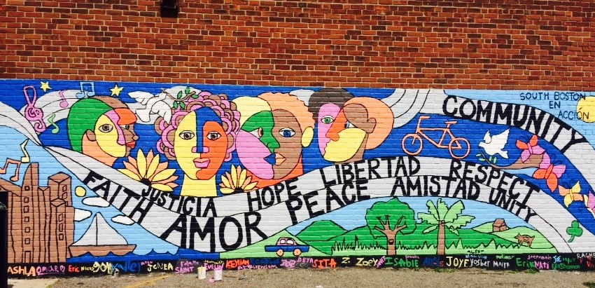 South Boston Community Mural
