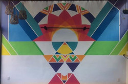 Happy Hippie Home (Mural, CDMX)