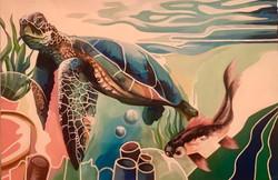 Mar Delirio (Acrilico, 80cm x 120cm)