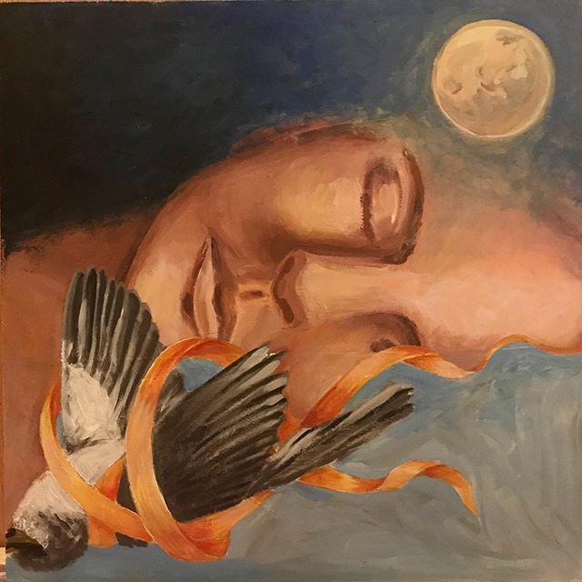 Dreams/Falling (acrilico)