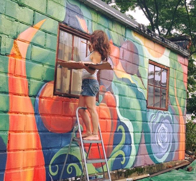 Grow (Mural, Boston, USA)