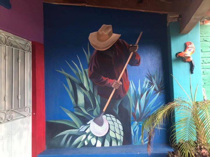 Jimador, Mural, Jalisco, 2020