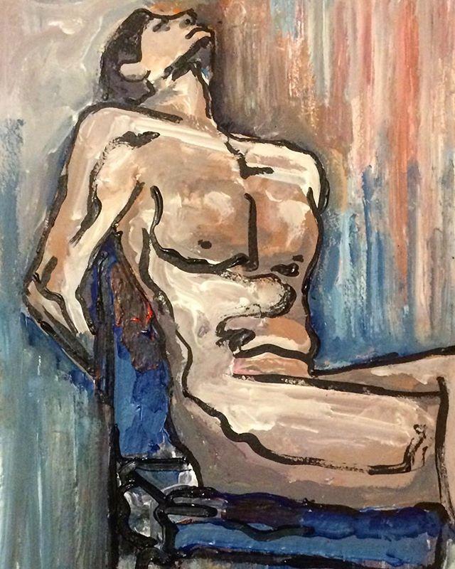 Nude (Acrylic)