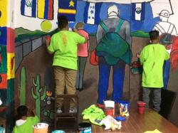 SMR (Community mural, CDMX)