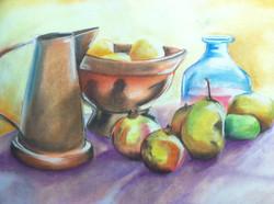 Still life (pastel)