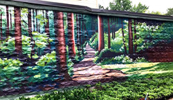 So That You Are Always Surrounded By Trees; Mural, Boston, 2021_edited