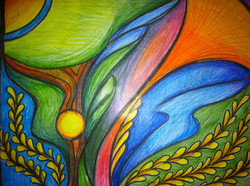 Growth (Colored pencil)