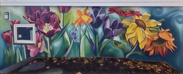 Always Blooming (Mural, Boston 2020)