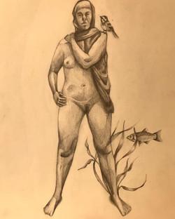 Spirit Animal, dibujo