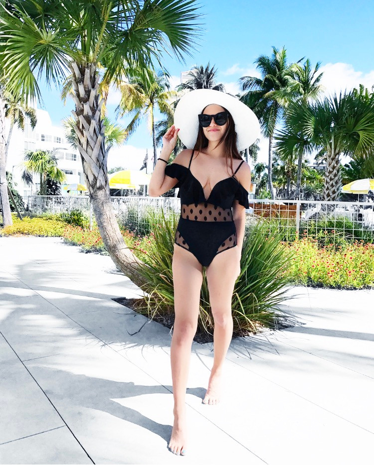 Bathing Suits for under $16 + Pom dress