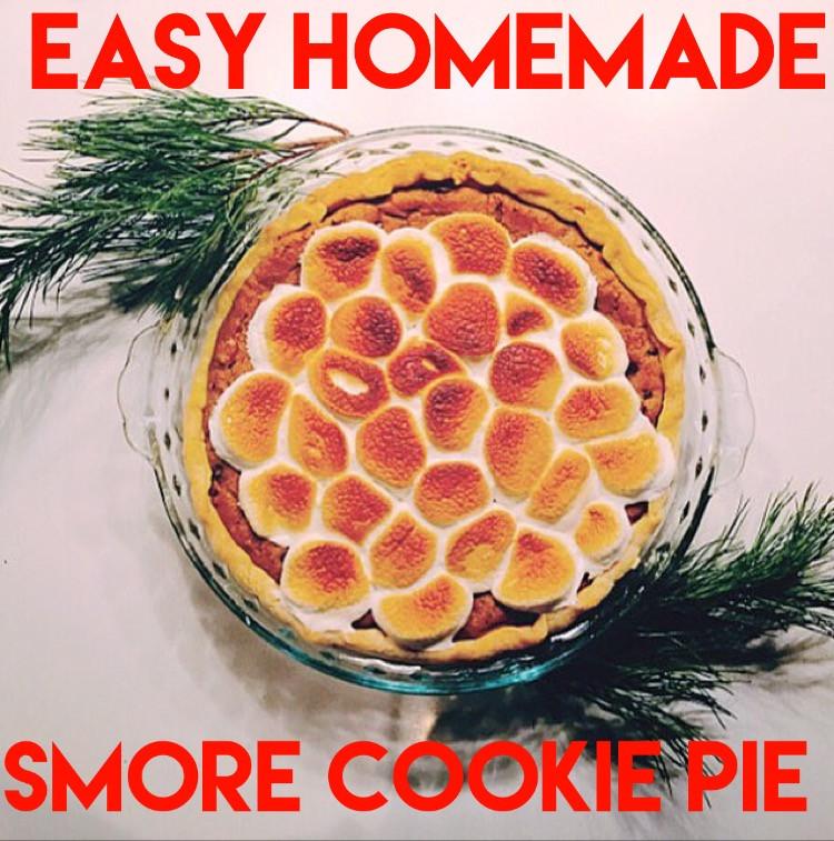 Easy Homemade S'more Pie