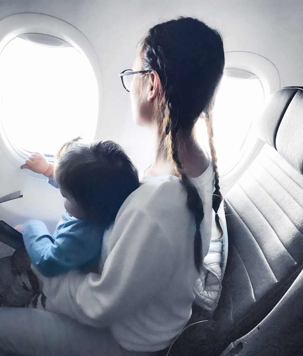 Flying with little ones!