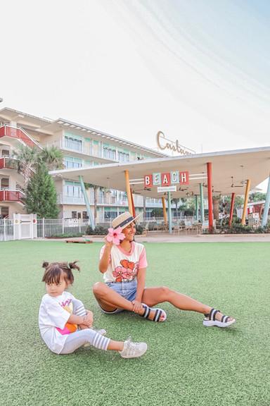 Cabana Bay Beach Resort at Universal Orlando Resort!