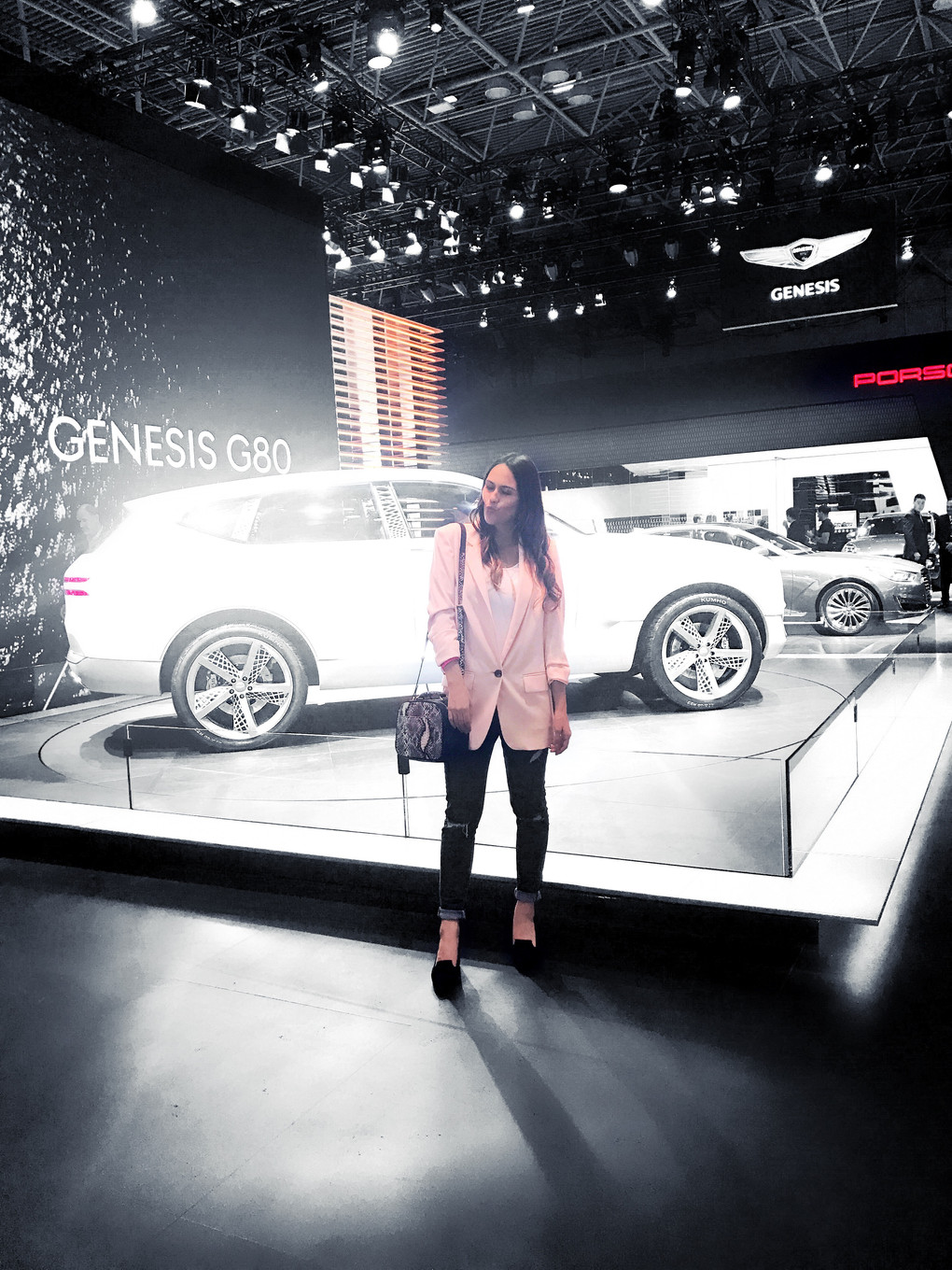 Girls Night Out at the New York Auto Show