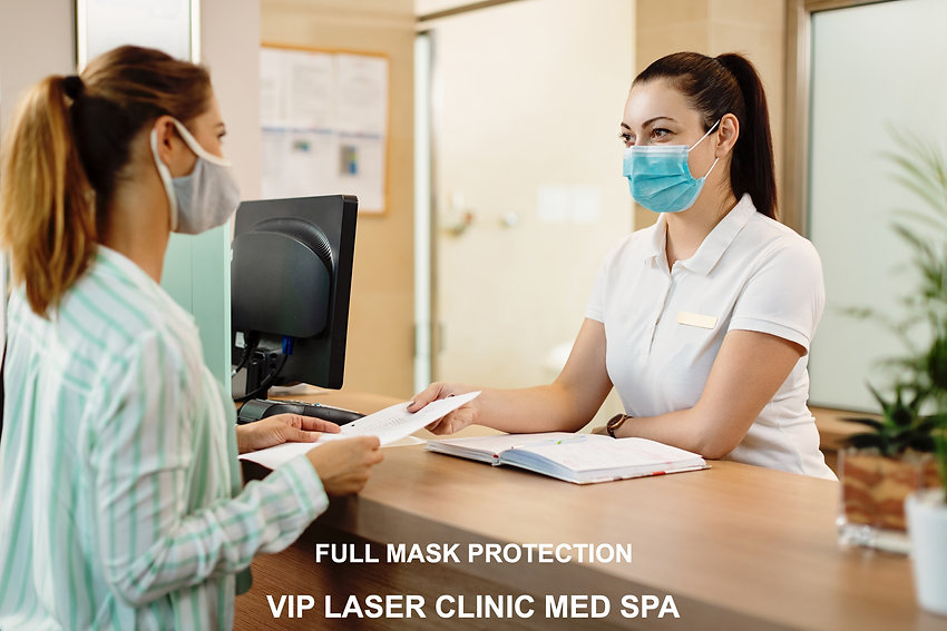 Full Mask Protection - VIP Laser Clinic