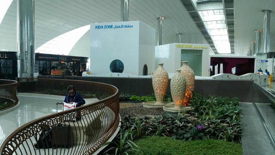 Dubaj, lotnisko