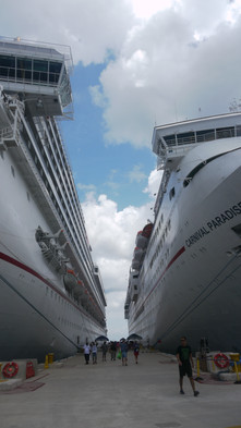 Meksyk, port w Cozumel