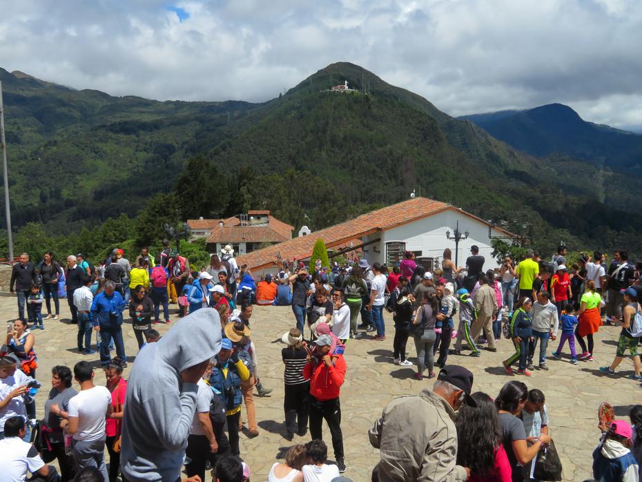 Bogota, wzgórze Monserrate