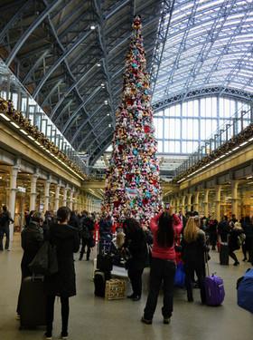 Dworzec kolejowy w Londynie