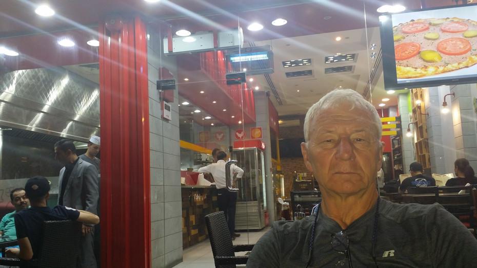 Dubaj, w marokańskiej restauracji