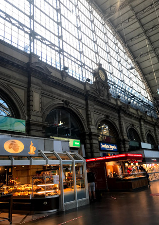 Frankfurt nad Menem, Niemcy Dworzec kolejowy