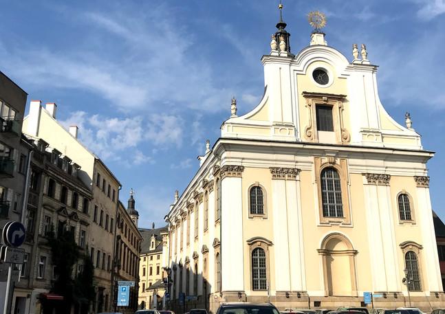 Kościół Imienia Jezus, obecnie kościół uniwersytecki