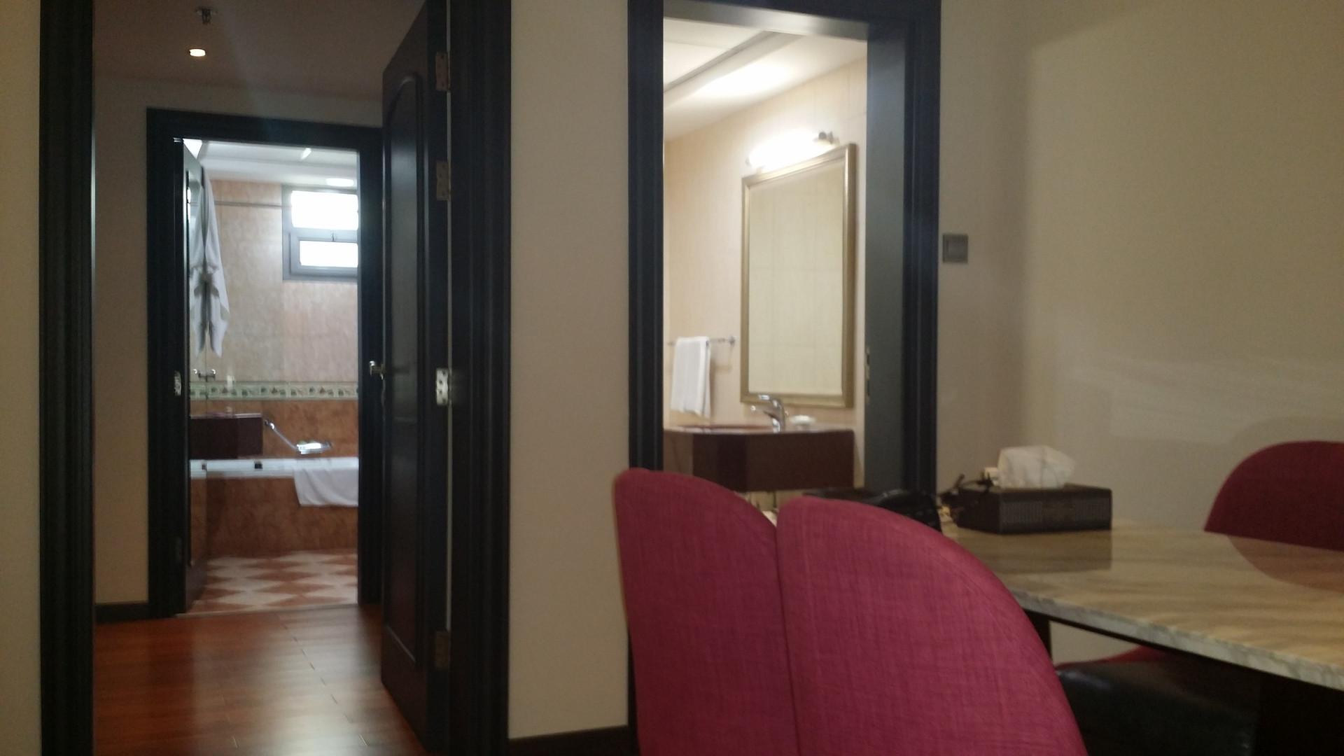 Dubaj, pokój w hotelu