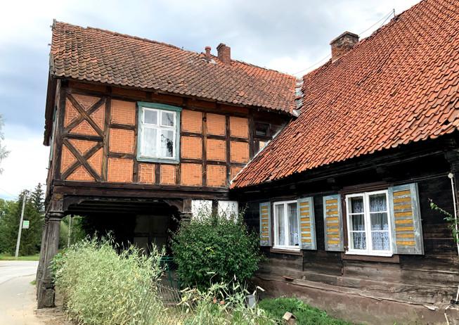Żuławy Wiślane, wieś Żuławki