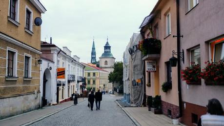 Uliczka w Sandomierzu