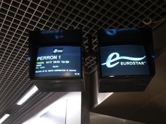 Dworzec kolejowy w Brukseli