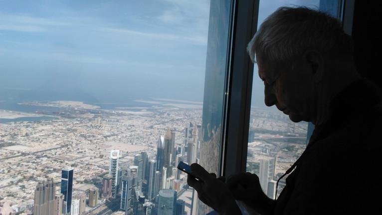 Dubaj, widok z Burj Khalifa