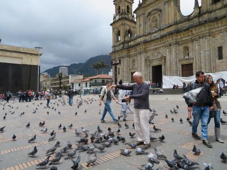Bogota, Plaza de Bolivar