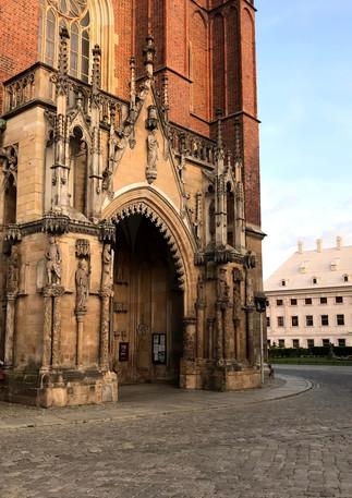 Ostrów Tumski, katedra św. Jana Chrzciciela