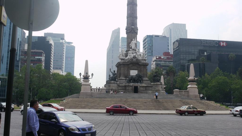 Mexico City, biurowa część miasta