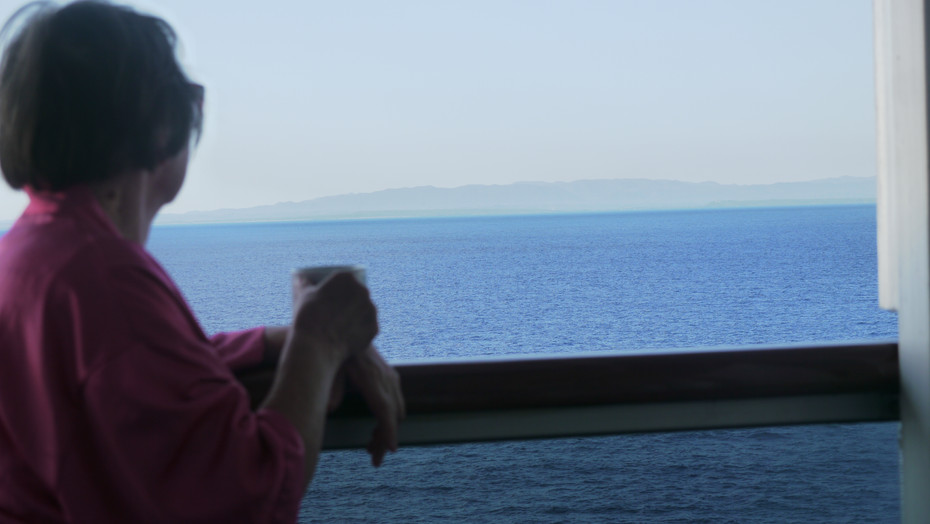Kuba z balkonu kajuty