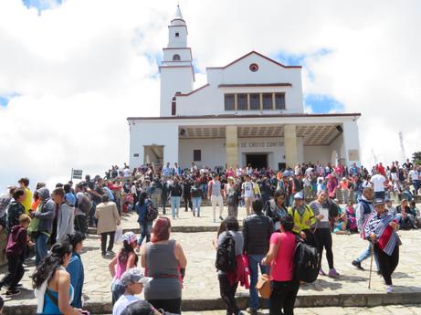 Bogota, kościół na Monserrate