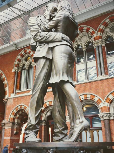 Londyn, na dworcu kolejowym