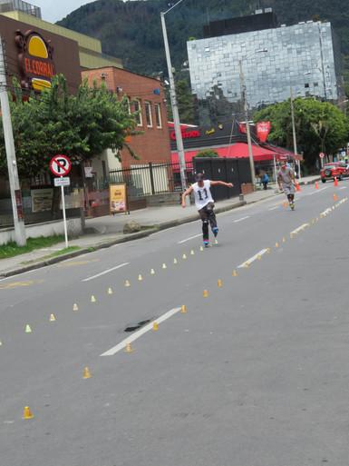 Bogota w niedzielne popołudnie