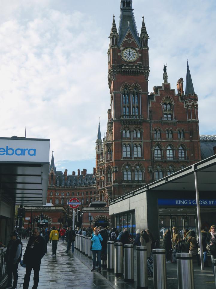 Londyn, dworzec kolejowy