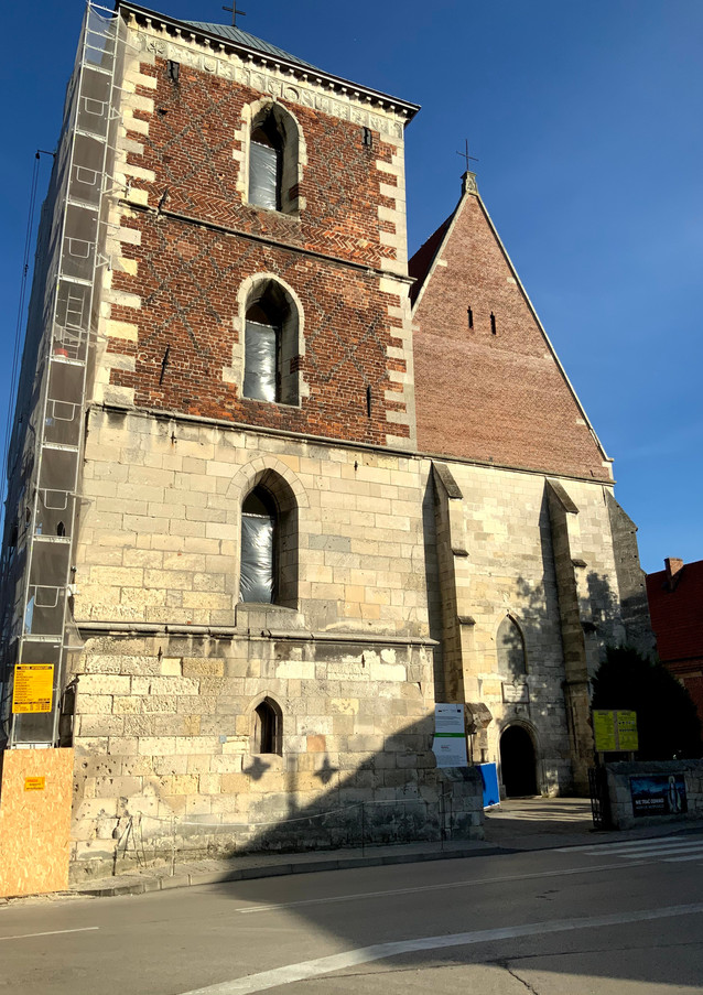 Dzwonnica ufundowana przez Jana Długosza