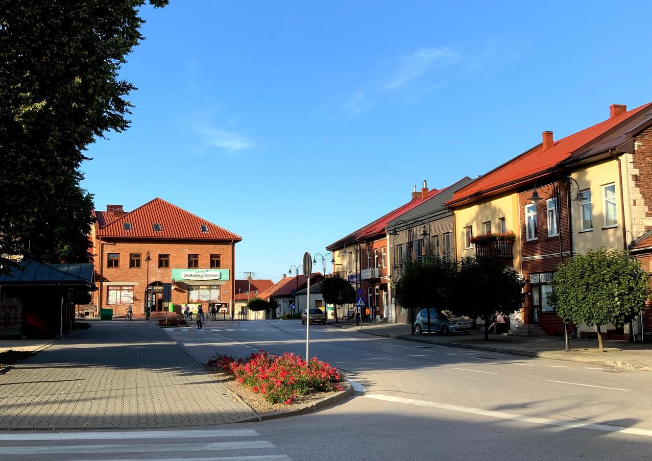 Rynek w Wiślicy