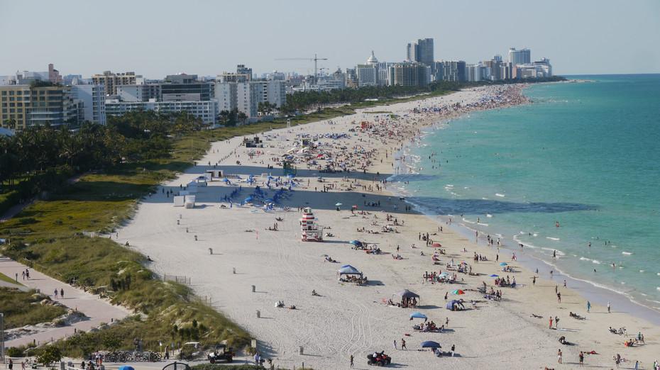 Miami Beach, plaza