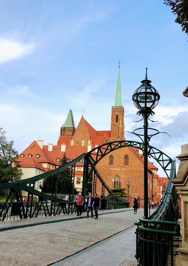 Ostrów Tumski, najstarsza dzielnica Wrocławia