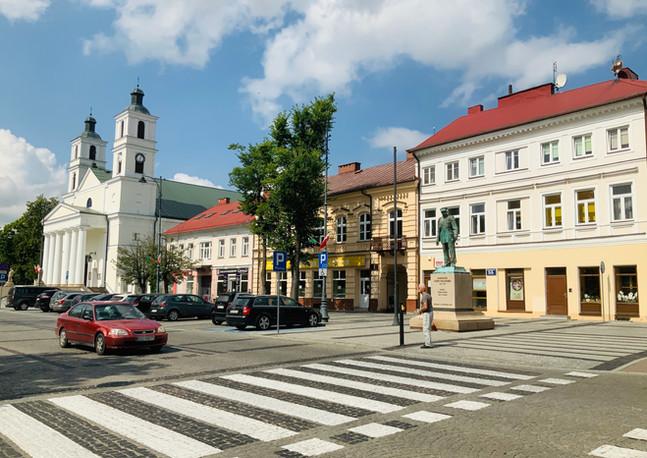 Plac Piłsudskiego w Suwałkach