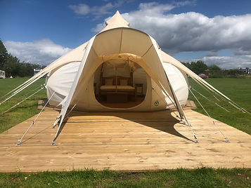 bell tent, glamping, lotus belle tent, tent, camping, derbyshire