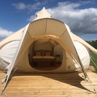 Belle tent, Glamping, Open new